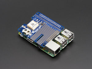 Adafruit Ultimate GPS HAT for Raspberry Pi A+ or B+ - Mini Kit - Chicago Electronic Distributors  - 1
