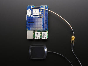 Adafruit Ultimate GPS HAT for Raspberry Pi A+ or B+ - Mini Kit - Chicago Electronic Distributors  - 3