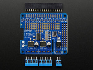 Adafruit DC & Stepper Motor HAT for Raspberry Pi - Mini Kit - Chicago Electronic Distributors  - 3