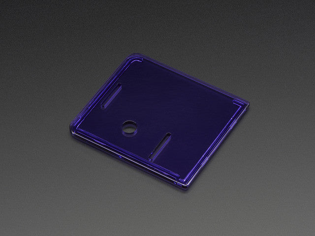 Raspberry Pi Model A+ Case Lid - Purple - Chicago Electronic Distributors