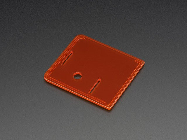 Raspberry Pi Model A+ Case Lid - Orange - Chicago Electronic Distributors