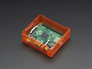 Pi Model A+ Case Base - Orange - Chicago Electronic Distributors