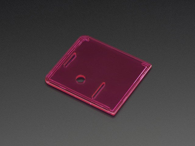 Raspberry Pi Model A+ Case Lid - Pink - Chicago Electronic Distributors