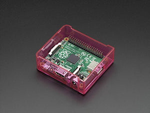 Pi Model A+ Case Base - Pink - Chicago Electronic Distributors