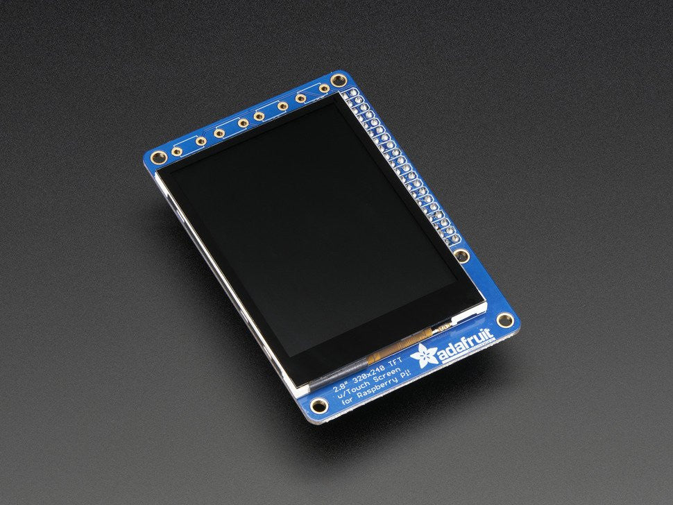 "PiTFT Plus 320x240 2.8"" TFT + Capacitive Touchscreen Mini Kit - Pi 2 and Model A+ / B+ - Chicago Electronic Distributors  - 5"