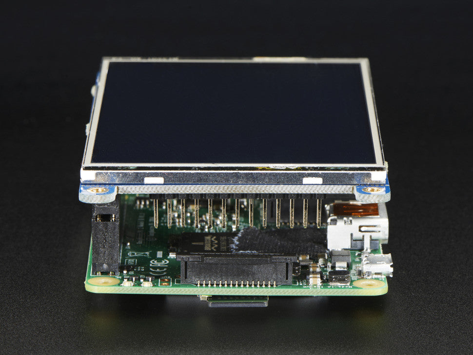 "PiTFT Plus 480x320 3.5"" TFT+Touchscreen for Raspberry Pi - Pi 2 and Model A+ / B+ - Chicago Electronic Distributors  - 6"
