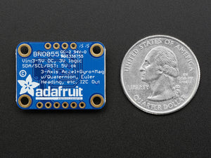 Adafruit 9-DOF Absolute Orientation IMU Fusion Breakout - BNO055 - Chicago Electronic Distributors  - 3