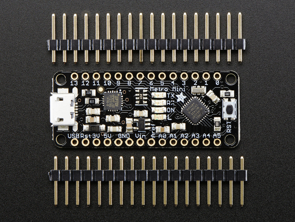 Adafruit Metro Mini 328 - 5V 16MHz - Chicago Electronic Distributors  - 5