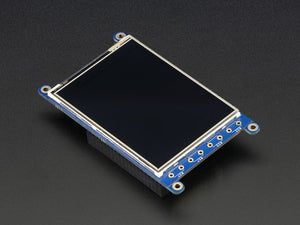 "PiTFT Plus 320x240 3.2"" TFT + Resistive Touchscreen - Chicago Electronic Distributors  - 6"