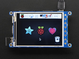 "PiTFT Plus 320x240 3.2"" TFT + Resistive Touchscreen - Chicago Electronic Distributors  - 7"