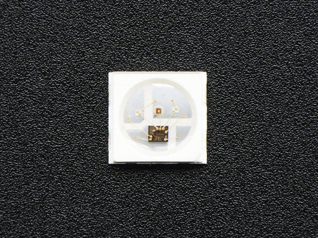 NeoPixel Mini 3535 RGB LEDs w/ Integrated Driver Chip - White - Chicago Electronic Distributors