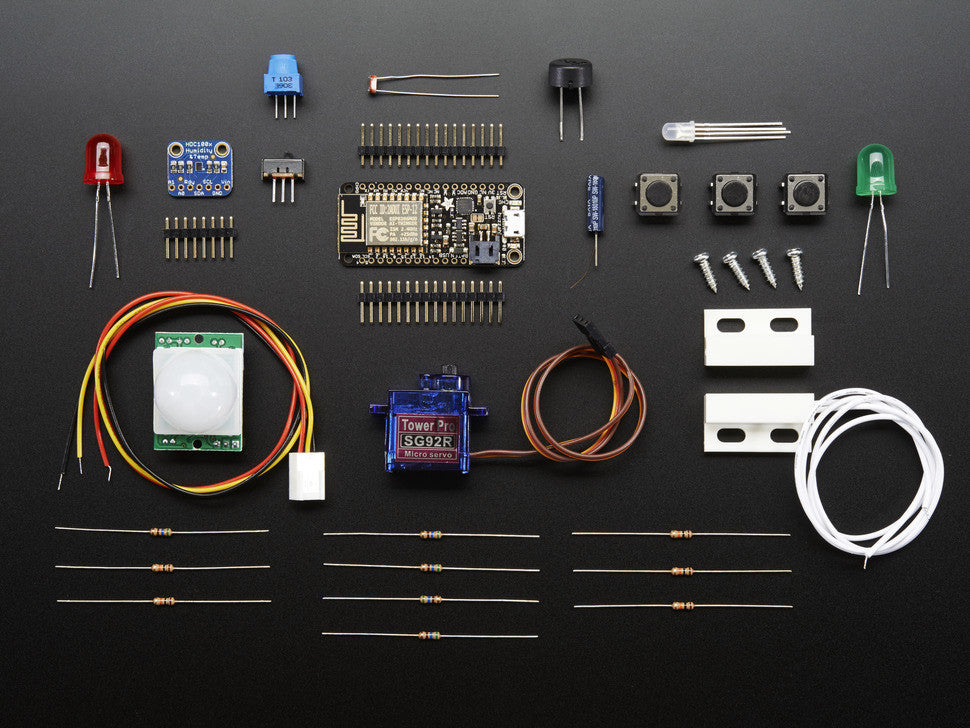 Huzzah! Adafruit io Internet of Things Feather ESP8266 - WiFi Starter Kit