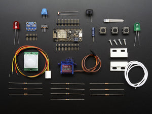Huzzah! Adafruit.io Internet of Things Feather ESP8266 - WiFi Starter Kit - Chicago Electronic Distributors