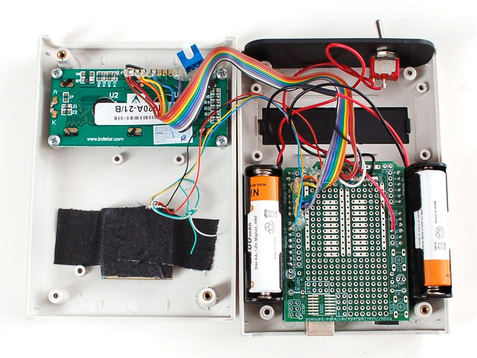White Enclosure for Arduino - Electronics enclosure - 1.0 - Chicago Electronic Distributors  - 3