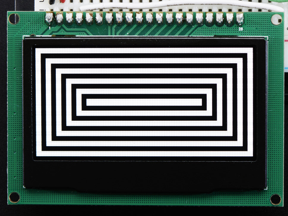 "Monochrome 2.42"" 128x64 OLED Graphic Display Module Kit - Chicago Electronic Distributors  - 6"