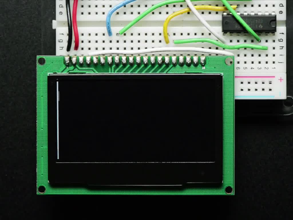 "Monochrome 2.42"" 128x64 OLED Graphic Display Module Kit - Chicago Electronic Distributors  - 1"