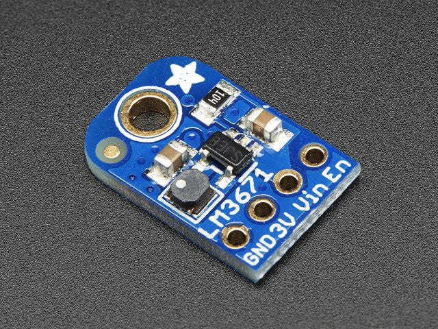 LM3671 3.3V Buck Converter Breakout  - 3.3V Output 600mA Max - Chicago Electronic Distributors