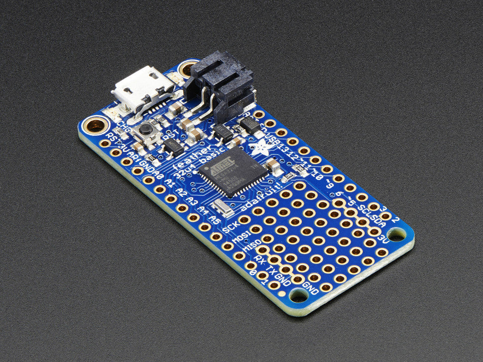 Adafruit Feather 32u4 Basic Proto - Chicago Electronic Distributors  - 1
