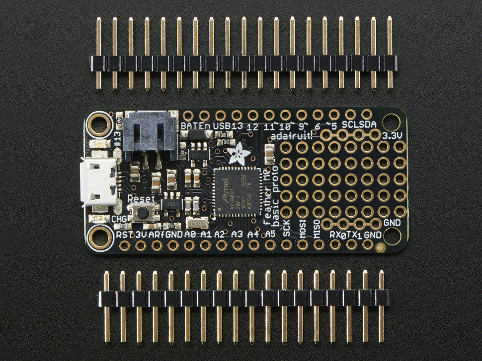 Adafruit Feather M0 Basic Proto - ATSAMD21 Cortex M0 - Chicago Electronic Distributors  - 4