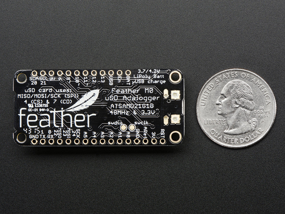 Adafruit Feather M0 Adalogger - Chicago Electronic Distributors  - 5