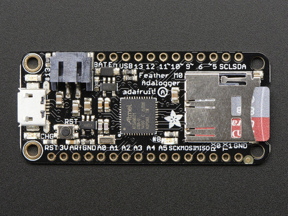 Adafruit Feather M0 Adalogger - Chicago Electronic Distributors  - 1