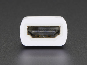 Mini HDMI Plug to Standard HDMI Jack Adapter - Chicago Electronic Distributors  - 2