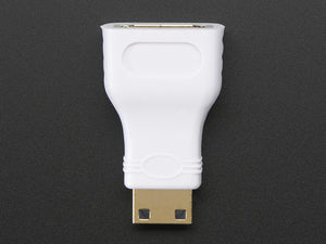 Mini HDMI Plug to Standard HDMI Jack Adapter - Chicago Electronic Distributors  - 1