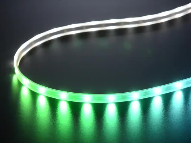 Adafruit NeoPixel Digital RGBW LED Strip - Black PCB 30 LED/m - Chicago Electronic Distributors