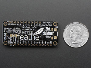 Adafruit Feather 32u4 Bluefruit LE - Chicago Electronic Distributors  - 2