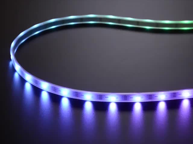 Adafruit NeoPixel Digital RGBW LED Strip - White PCB 30 LED/m - Chicago Electronic Distributors