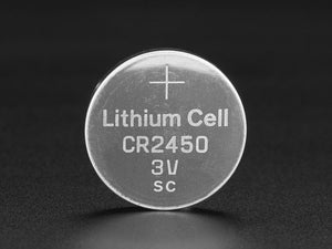 CR2450 Lithium Coin Cell Battery - Chicago Electronic Distributors