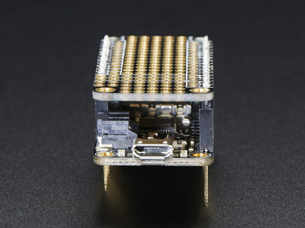 FeatherWing Proto - Prototyping Add-on For All Feather Boards - Chicago Electronic Distributors  - 9