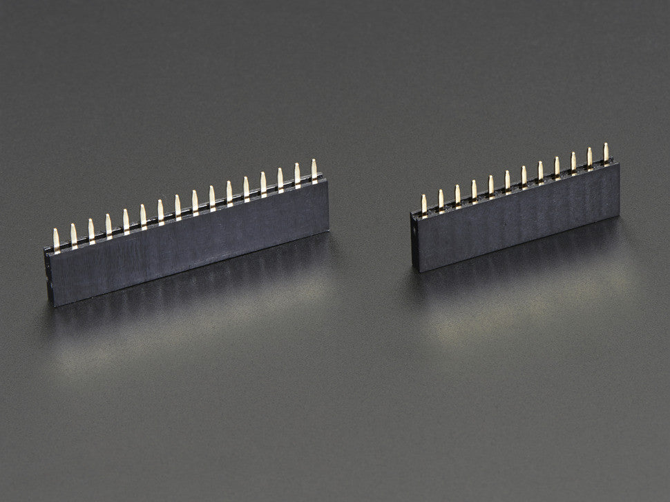 Feather Header Kit - 12-pin and 16-pin Female Header Set - Chicago Electronic Distributors  - 1