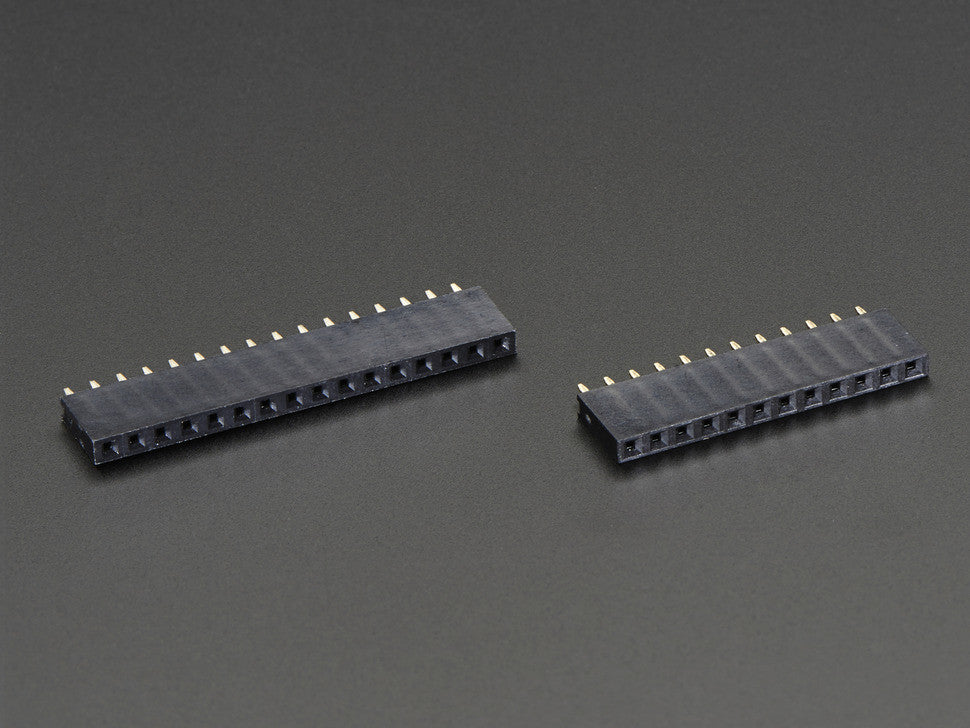 Feather Header Kit - 12-pin and 16-pin Female Header Set - Chicago Electronic Distributors  - 4