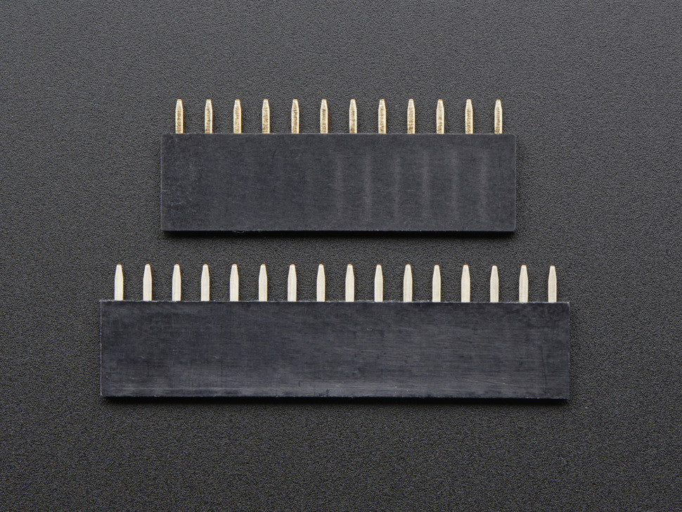 Feather Header Kit - 12-pin and 16-pin Female Header Set - Chicago Electronic Distributors  - 10