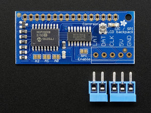 i2c / SPI character LCD backpack - Chicago Electronic Distributors