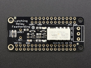 Adafruit Latching Mini Relay FeatherWing - Chicago Electronic Distributors  - 3