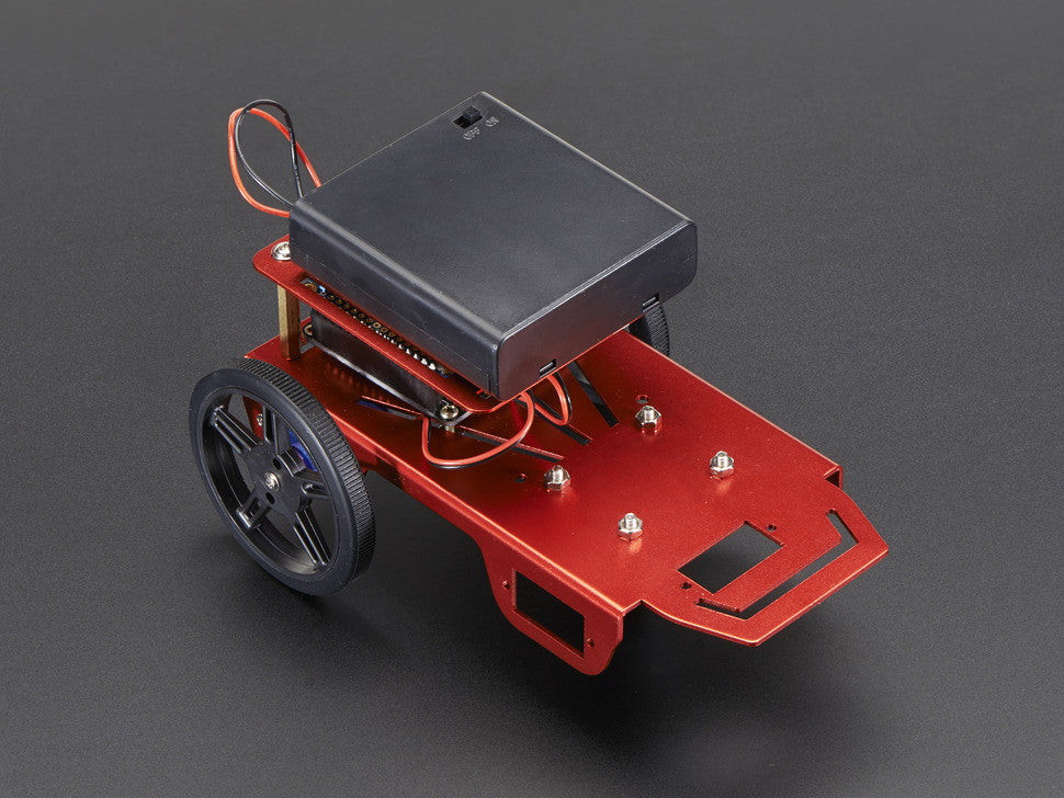 Mini Robot Rover Chassis Kit - 2WD with DC Motors - Chicago Electronic Distributors  - 1