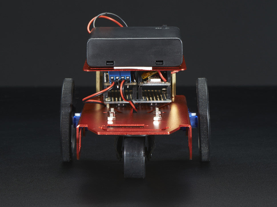 Mini Robot Rover Chassis Kit - 2WD with DC Motors - Chicago Electronic Distributors  - 7