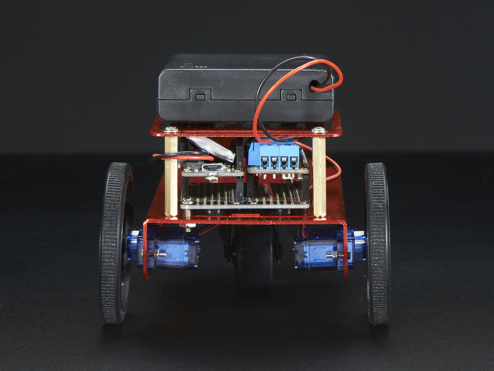 Mini Robot Rover Chassis Kit - 2WD with DC Motors - Chicago Electronic Distributors  - 8