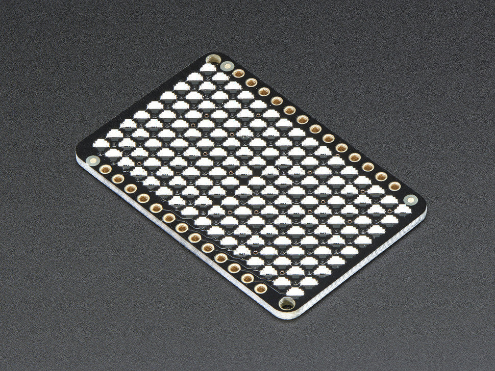 LED Charlieplexed Matrix - 9x16 LEDs - Blue - Chicago Electronic Distributors  - 4
