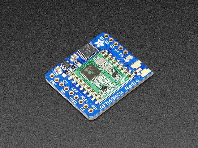 Adafruit RFM69HCW Transceiver Radio Breakout - 868 or 915 MHz - Chicago Electronic Distributors