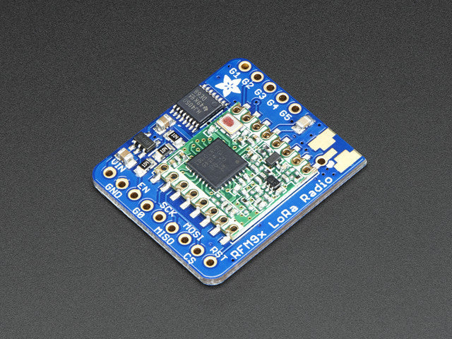 Adafruit RFM96W LoRa Radio Transceiver Breakout - 433 MHz - Chicago Electronic Distributors
