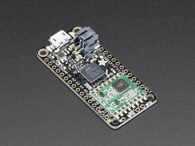 Adafruit Feather 32u4 with RFM69HCW Packet Radio - 433MHz - Chicago Electronic Distributors