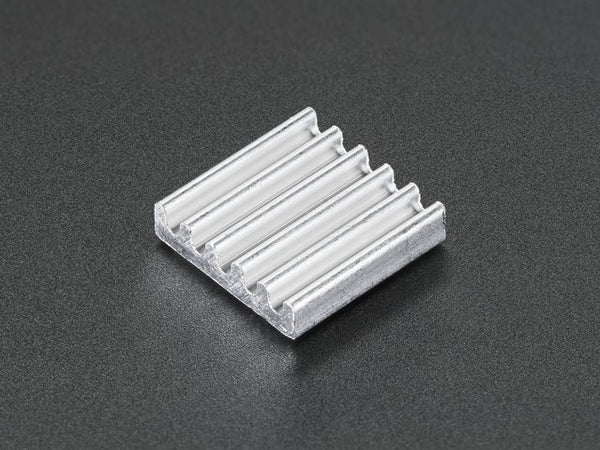 Mini Aluminum Heat Sink for Raspberry Pi - 13 x 13 x 3mm - Chicago Electronic Distributors
