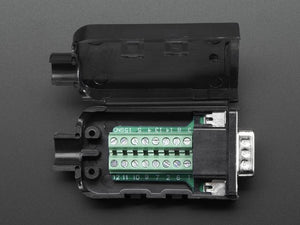 DE-15 (DB-15) Male Plug to Terminal Block Breakout - Chicago Electronic Distributors