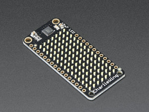 Adafruit 15x7 CharliePlex LED Matrix Display FeatherWing - White - Chicago Electronic Distributors  - 5