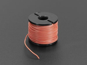 Silicone Cover Stranded-Core Wire - 50ft 30AWG Red - Chicago Electronic Distributors