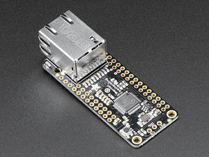 Adafruit Ethernet FeatherWing - Chicago Electronic Distributors  - 2