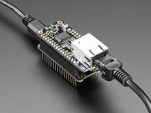 Adafruit Ethernet FeatherWing - Chicago Electronic Distributors  - 1